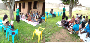 During assessment of women group in Nyrilo Cell, Mengo Ward South