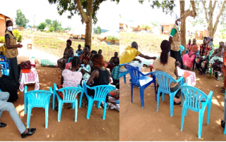 : Group assessment for the livelihood project in Sinyani Cell, Mengo Ward